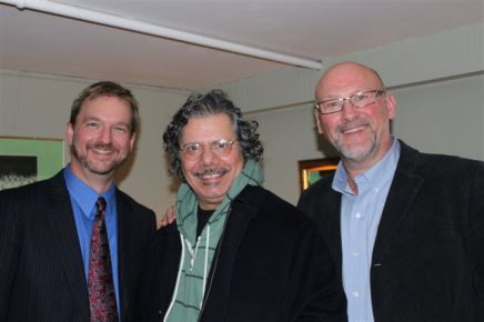 Clark and Bryan with Chick Corea at Aeolian Hall