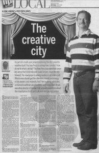 Free Press Article about Culture with Clark Bryan